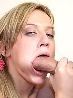 Horny little Holly loves to find a man with a thick piece of meat that can stretch her tight twat