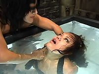 Femdom Sandra Romain catches Annie stealing and punishes her