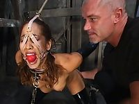 Submissive Isis Love returns for bondage and hard fucking.