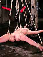 Wenona\\\'s strength is no match for the water, bondage or ropes