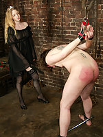 Neil is face slapped paddled and introduced to foot worship