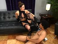 Kym Wilde inducts Franco to her world of s+m.