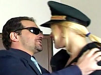 Tiny Titted Cop Babe Sucking And Fucking A Burglar
