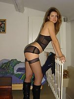 See charming ladies seducing guys with their lingerie