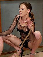 Audrey Leigh makes her debut as Dom at MenInPain