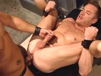 Slave spreads buttocks for ramrod