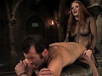 Mistress Lydia and EuroSex experiment with pain