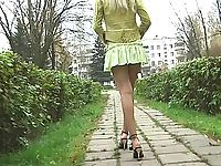 Upskirt collection free porn sample