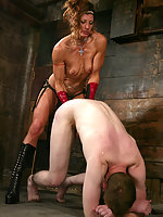 Kym puts gavin under her spell in this sexually intense scene.
