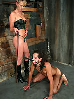 To relieve his balls Dax must pull on his hands