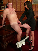 Shy Love punishes flirt office boy for harrasing the girls