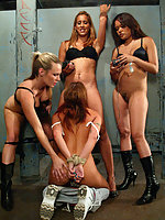 Hardcore action from the WiredPussy Gangbang Series!