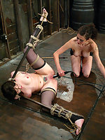 Dana DeArmond endures non-stop bondage and forced orgasms