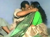 Indian couple in amateur movie