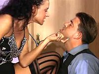 Lady boss that loves oral pleasures