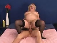 Plump mature hard assfucked by guy